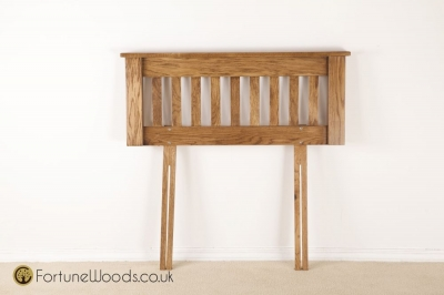 Rustic Oak Headboard - 3ft Single