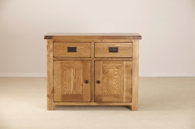 Rustic Oak Dresser Base