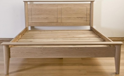 Sorrento Oak Bed - Panel