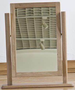 Sorrento Oak Dressing Mirror