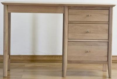 Sorrento Oak Dressing Table Single Pedestal