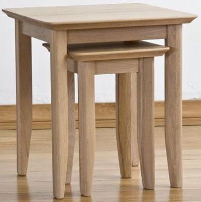 Sorrento Oak Nest of Tables