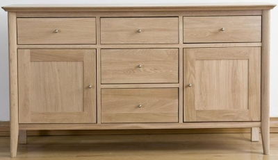 Sorrento Oak Sideboard Large