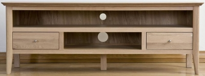 Sorrento Oak TV Cabinet Large