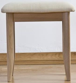 Sorrento Oak Dressing Stool