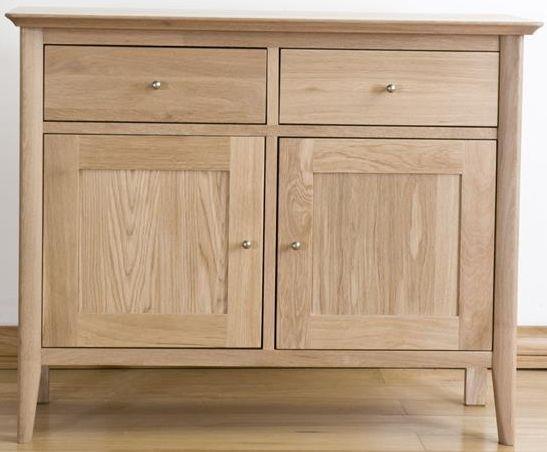 Sorrento Solid Oak Sideboard - Small