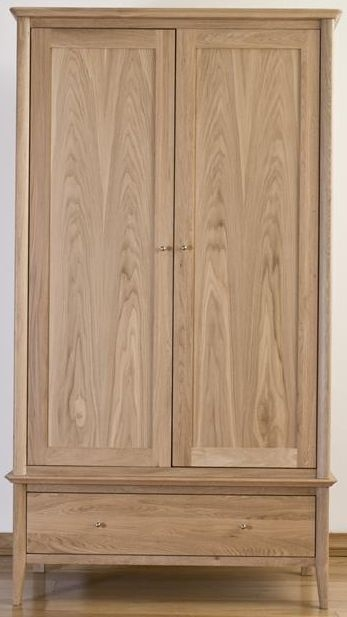 Sorrento Oak Wardrobe with 1 Drawer