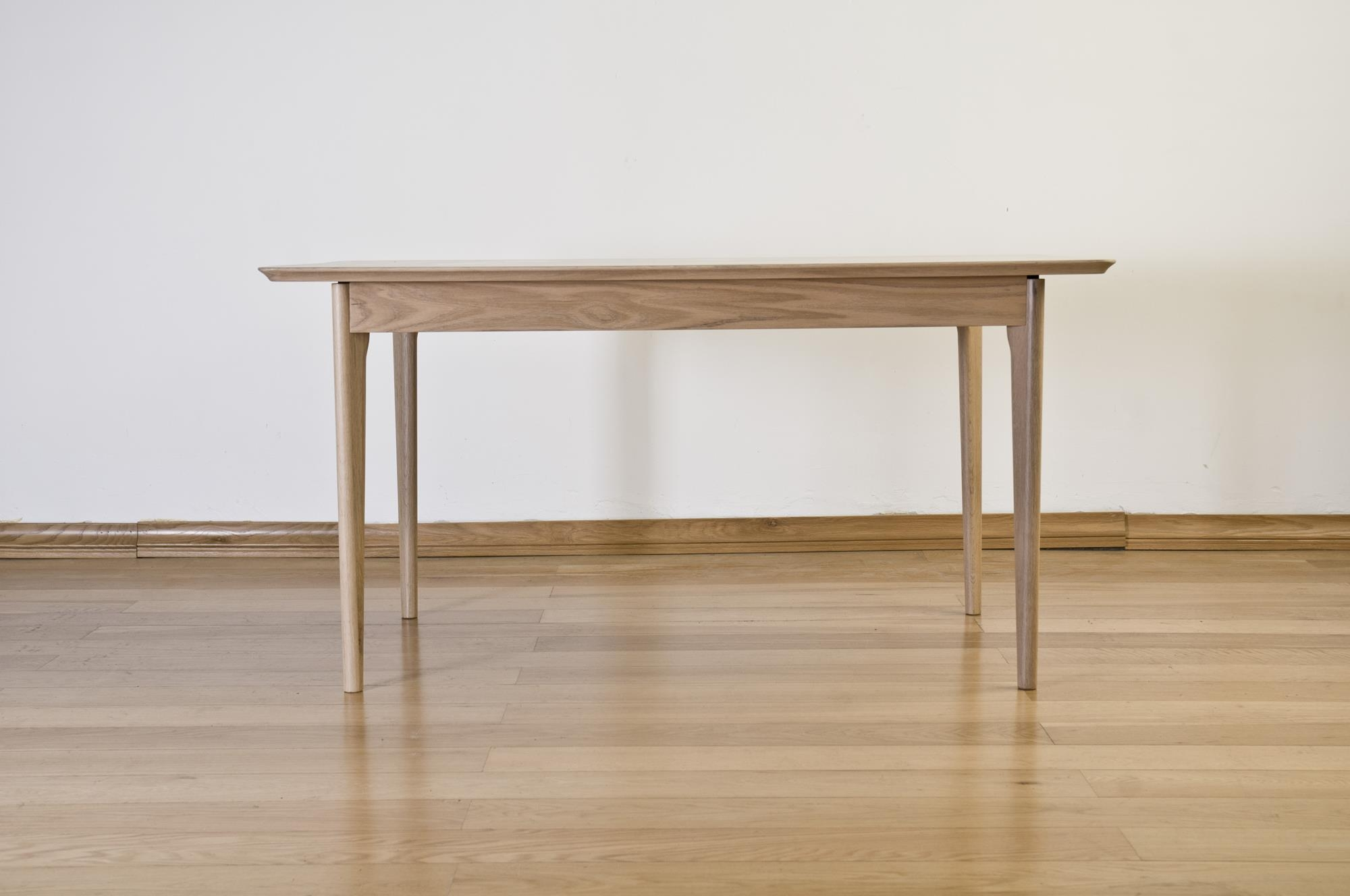 Sorrento Solid Oak Dining Table - 150cm Rectangualr Fixed Top