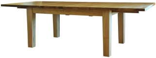 Tavistock Oak Dining Table - Large Extending with 2 Leaf