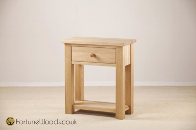 Tavistock Oak Hall Table - 1 Drawer
