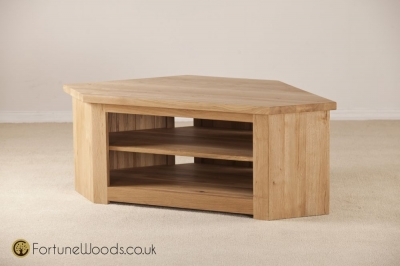 Tavistock Oak TV Unit - Corner