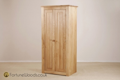 Tavistock Oak Wardrobe - 2 Door Full Length