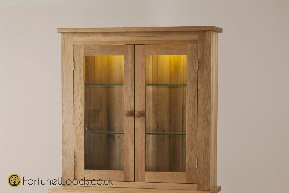 Tavistock Oak Sideboard Top - 2 Door