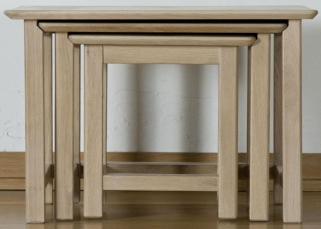 Toulouse Oak Nest of Tables