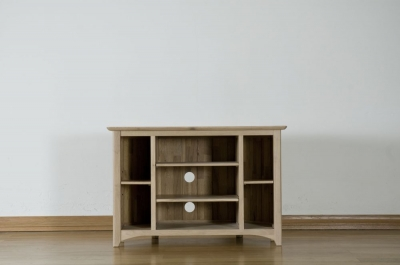 Toulouse Oak Corner TV Unit