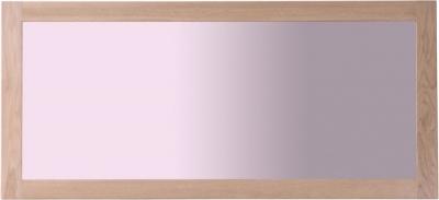 Toulouse Oak Rectangular Wall Mirror 130cm x 60cm