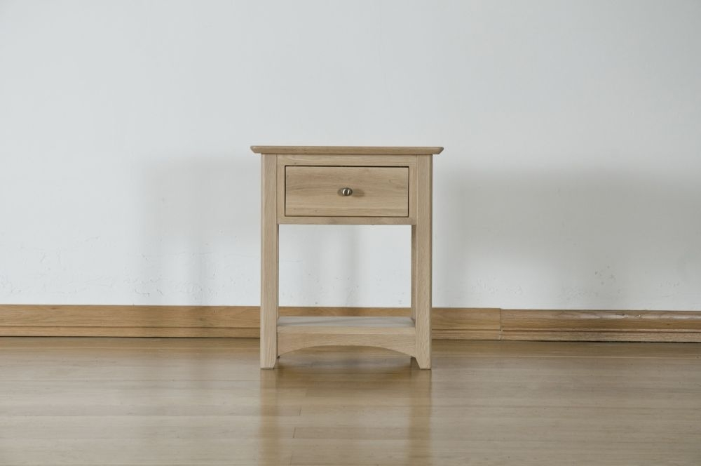 Toulouse Oak Bedside Table