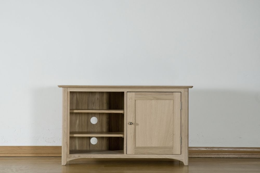 Toulouse Oak Video Cabinet - Standard