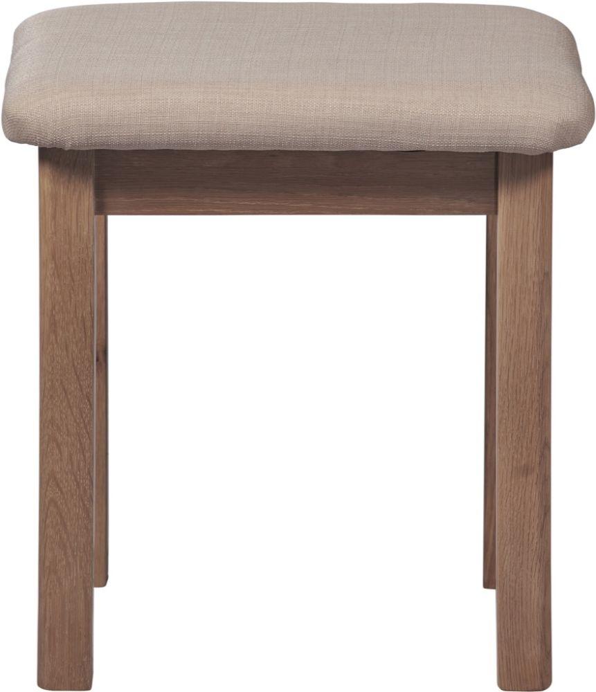Toulouse Oak Dressing Table Stool
