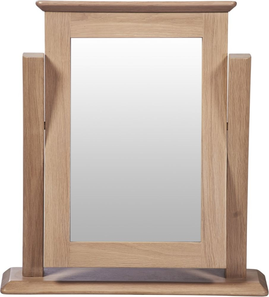 Toulouse Oak Single Dressing Table Mirror