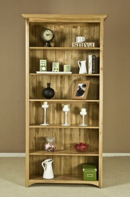 Tuscany Oak Bookcase