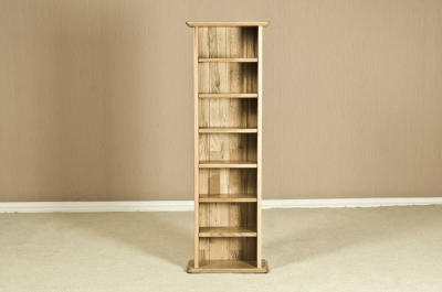 Tuscany Oak CD Rack