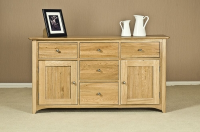 Tuscany Oak Wide Sideboard