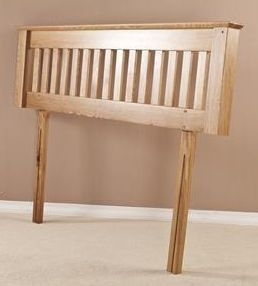 Tuscany Oak 4ft 6in Double Headboard