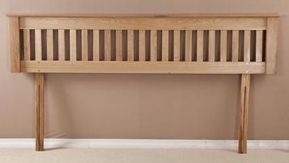 Tuscany Oak 6ft Queen Size Headboard