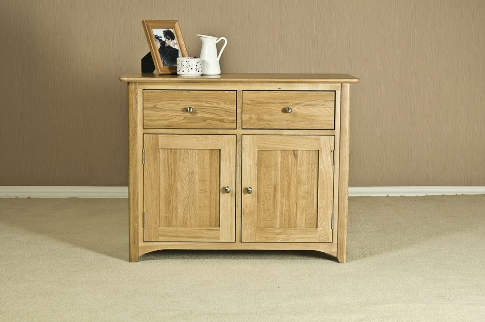 Tuscany Oak Dresser Base - 3ft