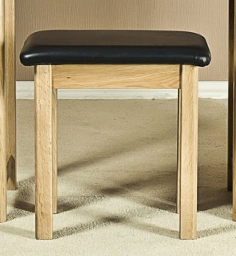 Tuscany Oak Dressing Stool