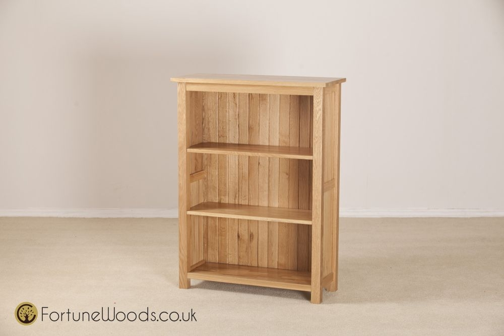 Windsor Oak Bookcase - 3ft