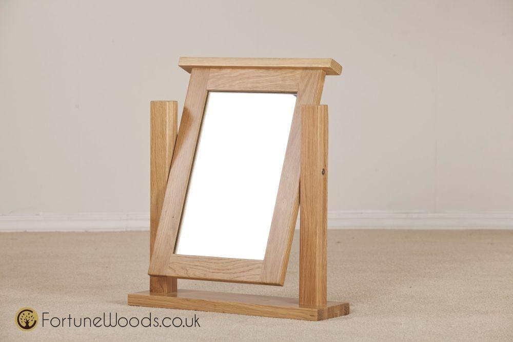 Windsor Oak Dressing Mirror
