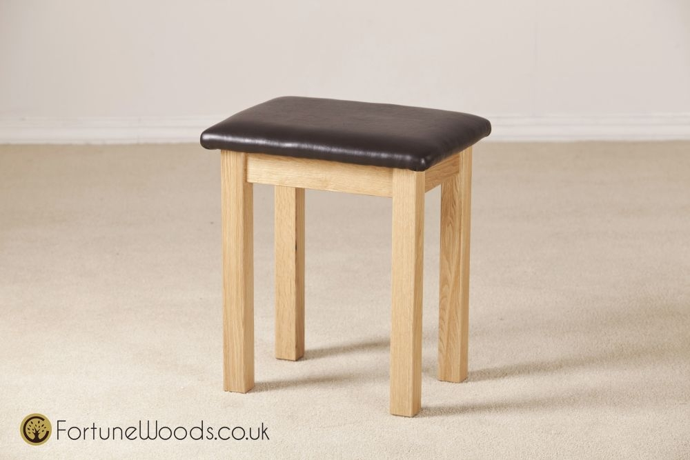 Windsor Oak Dressing Stool