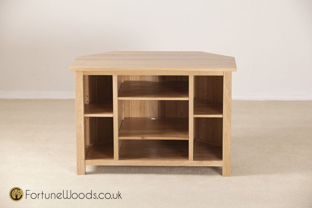 Windsor Oak TV Unit - Corner