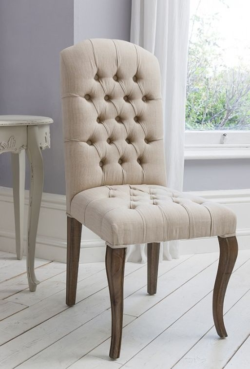Frank Hudson Maison Weathered Frame Button Chair (Pair)