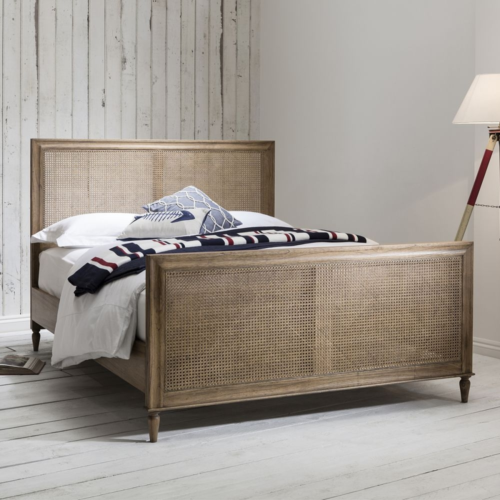 Frank Hudson Annecy Weathered Bed - 5ft King Size