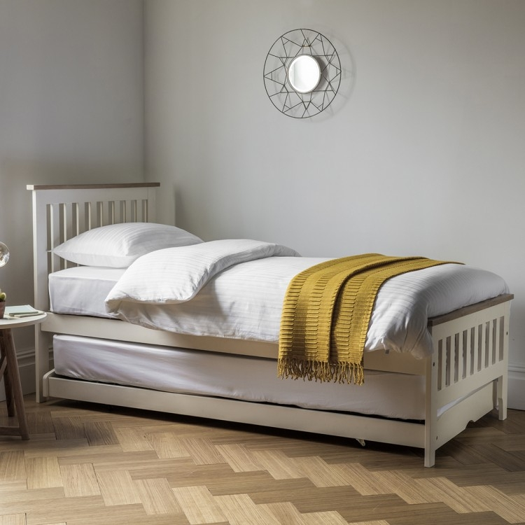 Frank Hudson Banbury White Guest Bed