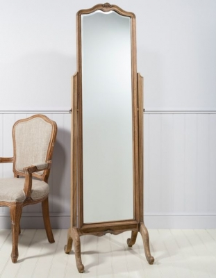 Frank Hudson Chic Weathered Cheval Mirror