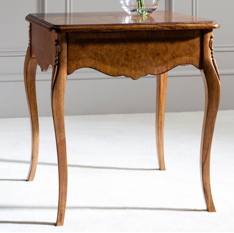 Frank Hudson Collection Des Articles Lamp Table - Square with Drawer