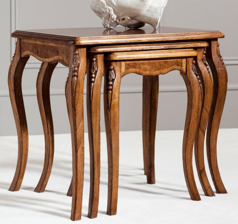 Frank Hudson Collection Des Articles Nest of Tables