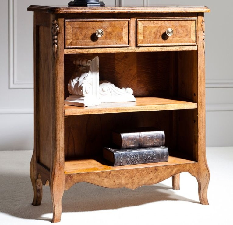 Frank Hudson Collection Des Articles Petite Bookcase with 2 Drawer