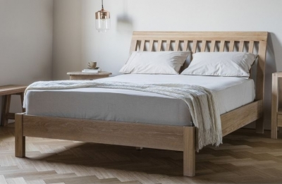 Frank Hudson Marlow Solid Oak Bed - 5ft King Size