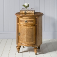Frank Hudson Spire 1 Door 1 Drawer Drum Table