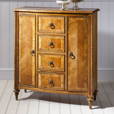 Frank Hudson Spire Sideboard Unit - Mini 2 Door 4 Drawer