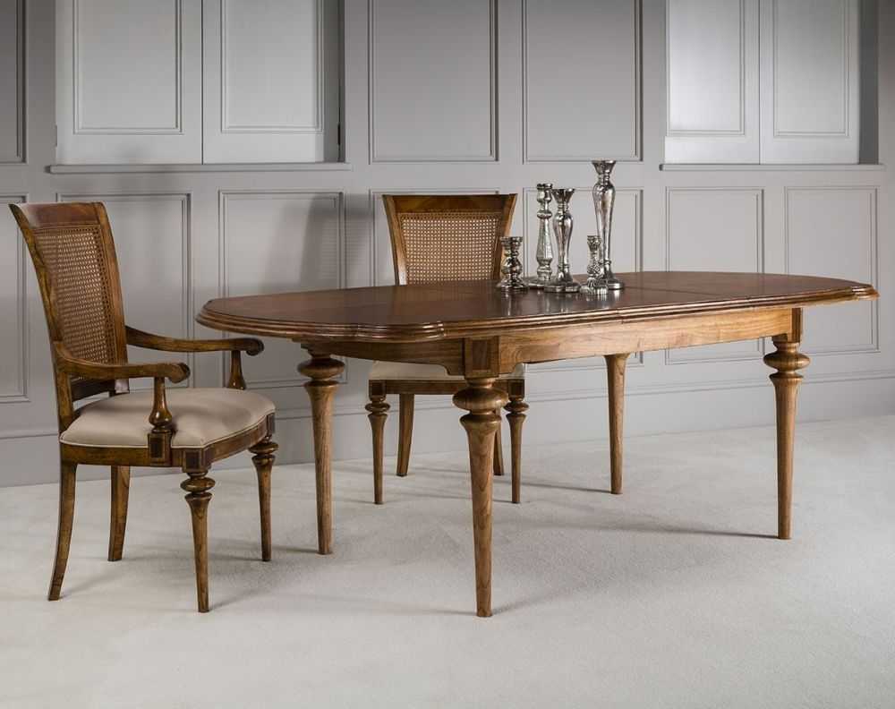 Frank Hudson Spire Oval Extending Dining Table - 170cm-220cm