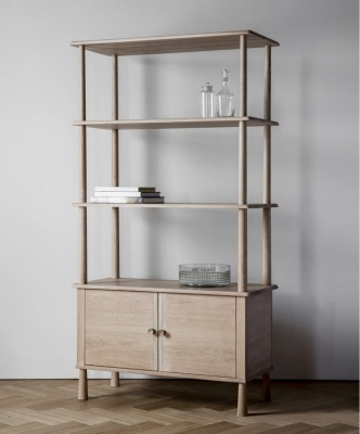 Frank Hudson Wycombe Oak Open Display Unit