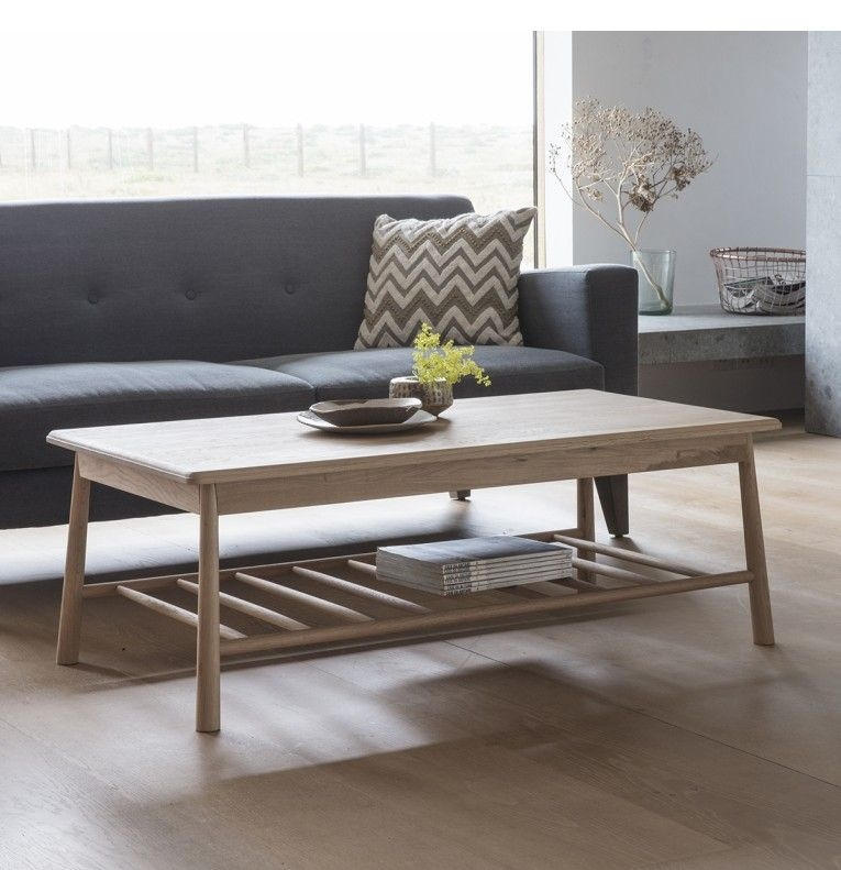 Frank Hudson Living Wycombe Coffee Table - Rectangle