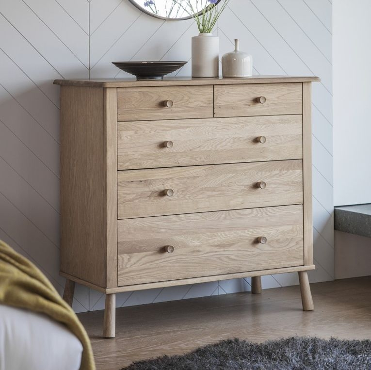 Frank Hudson Wycombe Chest of Drawer - 5 Drawer