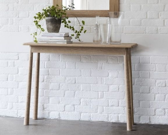Frank Hudson Wycombe Oak Console Table